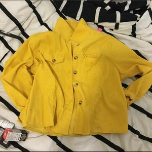 Yellow Button Jacket